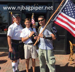 NJ Bagpiper