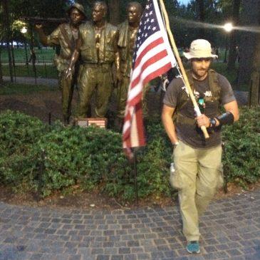 Navy Veteran to Walk