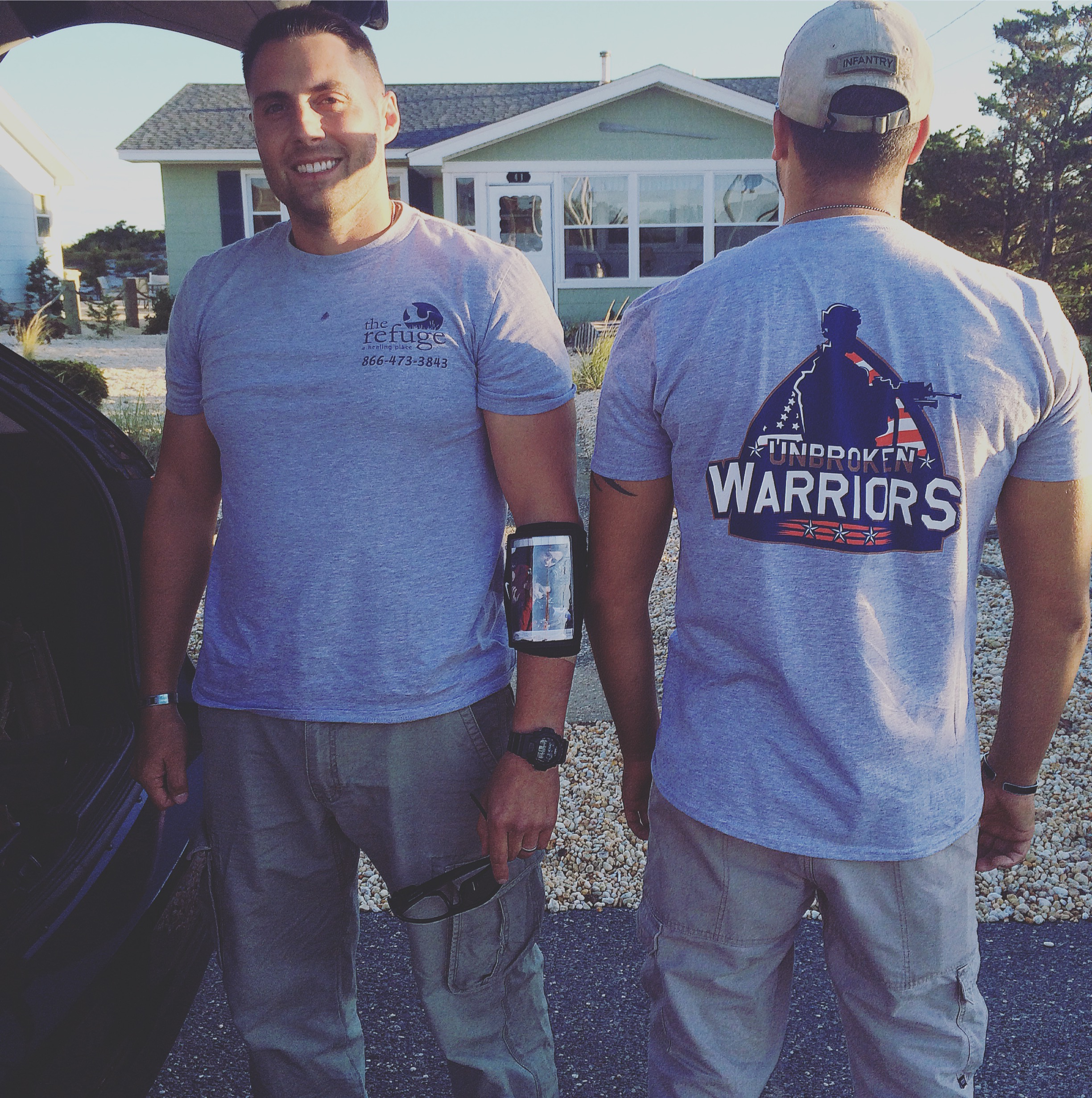 Volunteer with Unbroken Warriors