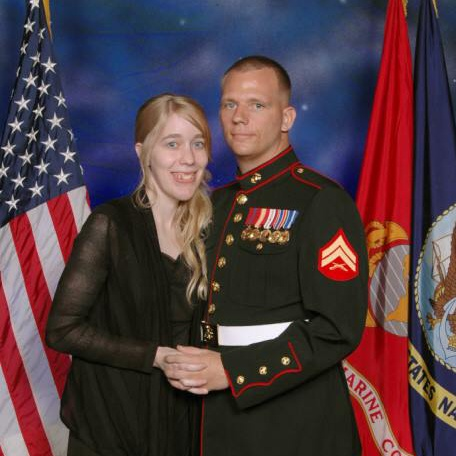 Holly and Cpl. Dustin Mckinley