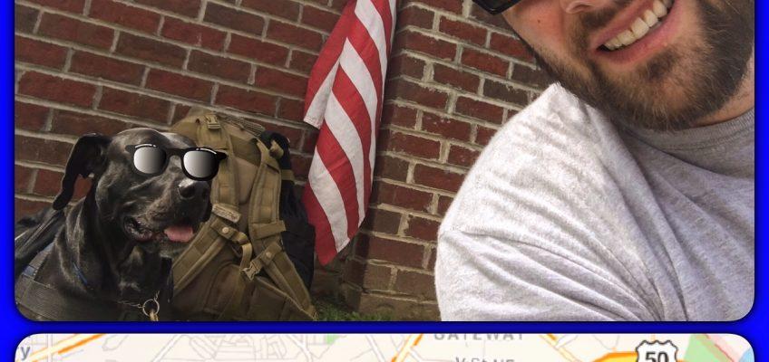 PTSD Memorial Walk Images