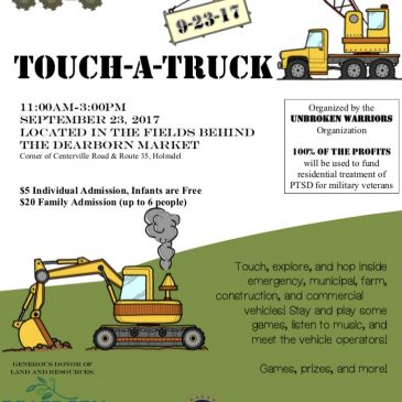 Touch-a-Truck Prep